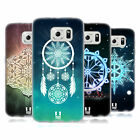 HEAD CASE DESIGNS SNOWFLAKES SOFT GEL CASE FOR SAMSUNG PHONES 1