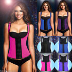 US Hot Bodyshaper Rubber Waist Trainer Cincher Underbust Slimming Cincher Latex