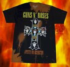 New Guns N Roses Appetite for Destruction Classic Vintage Concert Band T-shirt image