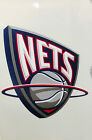 Brooklyn Nets RETRO Reusable JUMBO Cling Auto Window Static Decal Basketball on eBay