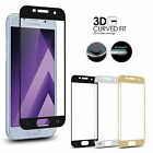 Full Curved 3D Tempered Glass Screen Protector For Samsung Galaxy A3 A5 J5 2017