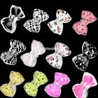 20PCS Bow Tie Beads Slices Nail Art Tips Decoration Butterfly Multicolor EN24H02