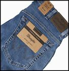 MENS WRANGLER STRETCH DENIM DURABLE JEAN REGULAR FIT STONE WASH BLUE Texas style