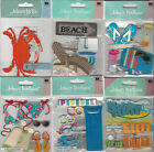 U CHOOSE  Assorted Jolee's BEACH 3D Stickers shore house pool crab boardwalk