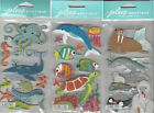 U CHOOSE  Assorted Jolee's OCEAN SEA ANIMALS & FISH 3D Stickers octopus walrus