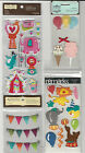 U CHOOSE  Assorted Recollections CIRCUS & CARNIVAL 3D Stickers elephant tent