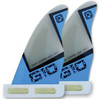 Tekkno Sport Windsurf Finne G-10 Twin Cobra SLOT Wave