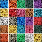 LOOSE CUP SEQUINS - METALLIC - 720/PACK - 4MM & 6MM 24 COLORS - THREADART