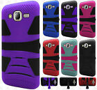For Samsung Galaxy J7 Hard Gel Rubber KICKSTAND Case Phone Protector Cover