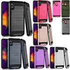 For LG Destiny L21G Hard Gel Rubber KICKSTAND Case Phone Protector Cover
