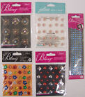 U CHOOSE Assorted Jolee's ALL THAT BLING 3D Stickers flowers studs borders gems