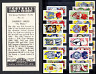 FOOTBALL CLUBS and COLOURS by KANE Products  1956  99p EACH