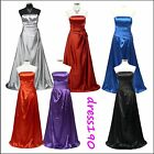 dress190 Strapless Long Maxi Party Prom Ball Gown Evening Braidsmaid Dress 8-26