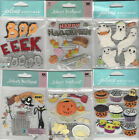 U CHOOSE  Assorted Jolee's HALLOWEEN 3D Stickers witch hats pumpkin carving bat