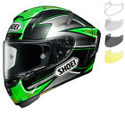 Shoei X-Spirit 3 Laverty Motorbike Bike Helmet & Visor Motorcycle Full Face Race