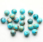 Natural Stone Gemstone Round Spacer Charm Loose Beads Craft 4/6/8/10mm