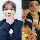 Line Friends Brown/Sally Mask Anti-dust Kpop BTS V Unisex Face Mouth Cotton SUGA