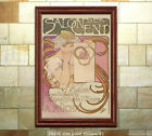 Alphonse Mucha Salon des Cent 1897 Poster Print [4 sizes, matte+glossy avail]