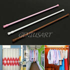 New Telescopic Shower Curtain Rail Extendable Pole Rod 3 Colors for Home Room