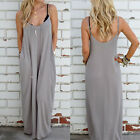 Hot Ladies Long Maxi Dress Womens Cami Thin Strappy Lagenlook Baggy Loose Dress