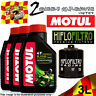 3L MOTUL 5100 10W40 OIL AND HF303RC RACING FILTER TO FIT KAWASAKI MOTOR CYCLE 1