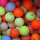 ASSORTED COLOURED PRACTICE GOLF BALLS - MULTIPLE QUANTITIES AVAILABLE