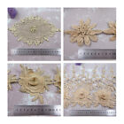 1 METRE GOLD LACE TRIMMING *4 DESIGNS* SEWING HABERSDASHERY TRIM DRESSMAKING