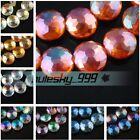 Wholesale 14mm 18mm Faceted Rondelle Oblate Crystal Glass Loose Spacer Beads