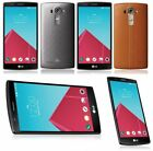 NEW LG G4 32GB UNLOCKED T MOBILE ATT SMARTPHONE GRAY OR GENUINE LEATHER BROWN