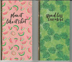 """U CHOOSE  * Assorted Recollections JOURNALS budget planning 4-1/4X8"""""""