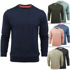 New Mens Brave Soul Sweatshirt Pull Over Jumper Fleece Gym Top Size S M L XL XXL