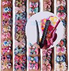 1~5pcs Women Fashion Cute Lace Colorful Hairpins Hair Clips Wedding Jewelry