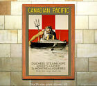 Duchess Steamships Vintage Steamship Travel Poster [6 sizes, matte+glossy avail]