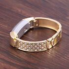 Latest Shiny Replacement Strap Bracelet Bangle Strap w/Tool For Fitbit Alta HR