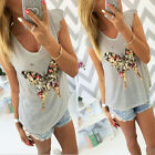 Fashion Women's Butterfly Sequins 3D Butterfly V-neck Petal Casual T-Shirts