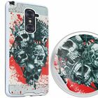 For ZTE Zmax Pro Z981 Slim Brushed Design Hybrid Armor Rubber Shockproof Case
