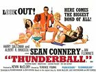 Thunderball James Bond 35mm Film Cell strip very Rare var_f £1.75 GBP