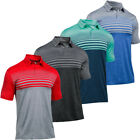 Under Armour 2017 Mens UA CoolSwitch Upright Stripe Golf Polo Shirt