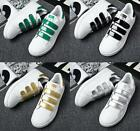 New Men's Fashion Leather Casual Lace Up Sneakers Trainer Shoes
