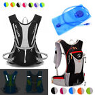 5L 12L Bike Bicycle Hydration Pack Backpack Camelbak Pattern Hiking + 2L Water Bag