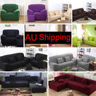 Sofa Couch Slip Over Easy Fit Stretch Covers Elastic Fabric Fit Lounge Protector