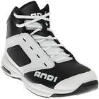 AND1 Typhoon Mid Black;White - Mens - Size