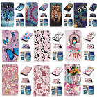 For Samsung Galaxy S6 Hot Relief Premium Varnish Leather Card Pockets Case Cover