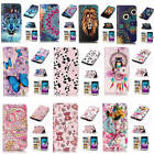For Samsung Galaxy J3 2016 J320 Relief Premium Varnish Leather Card Pocket Cover