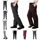 Fashion Chef Working Pants Totel Restaurant Elastic Comfy Cook Work Trousers