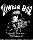 Zombie horror goth New Orleans T-shirt