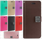 For ZTE Blade X Max Premium Flip Out Pocket Wallet Case Pouch Cover Accessory