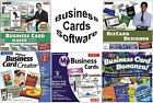 Business Card Maker Software Assortment PC Windows XP Vista 7 8 10 Sealed New