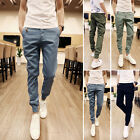 2017 Korean Style Mens Fashion Casual Slim Fit Skinny Harem Trousers slacks Pant