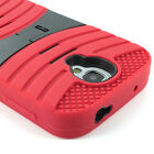 For Samsung Galaxy S4 SIV Hybrid Hard Shockproof Skin Curve Kickstand Case Cover